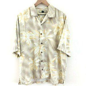 Tommy Bahama Silk Hawaiian Shirt L